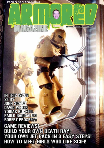 Armored Magazine Cover