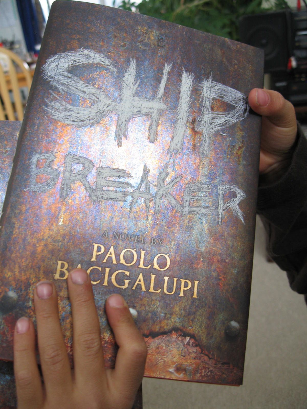 ship breaker This thrilling bestseller and national book award finalist is a gritty, high-stakes adventure of a teenage boy faced with conflicting loyalties, set in a dark future america devastated by.