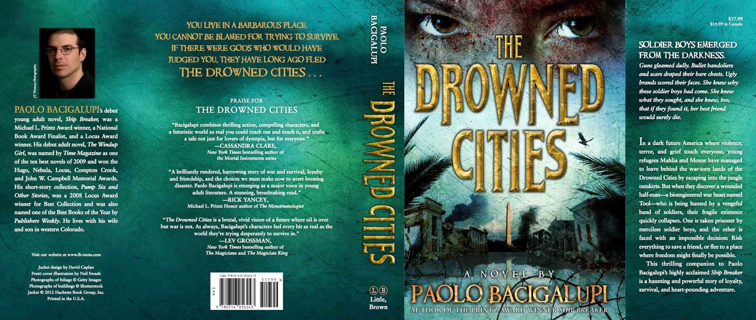 Book Cover Black Jackets ~ The drowned cities