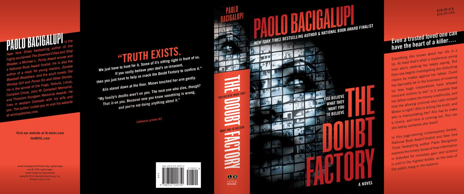 Hardcover Book Jacket